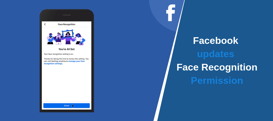 Facebook updates Face Recognition Permission